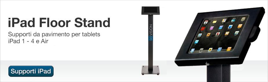 Stand da pavimento iPad Kiosk