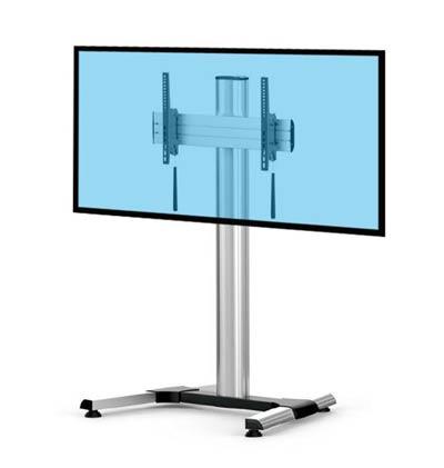 supporto tv da pavimento atezza regolabile vesa. Black Bedroom Furniture Sets. Home Design Ideas